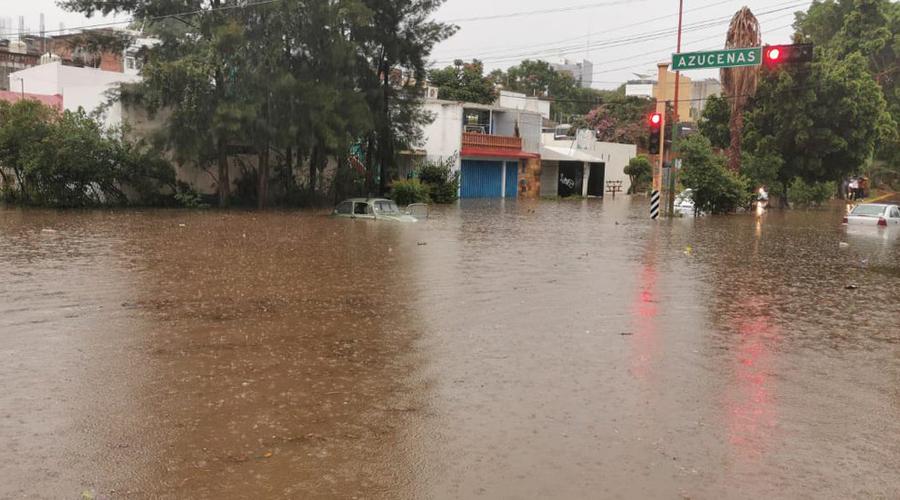 Azota tormenta en la Zona Metropolitana de Oaxaca