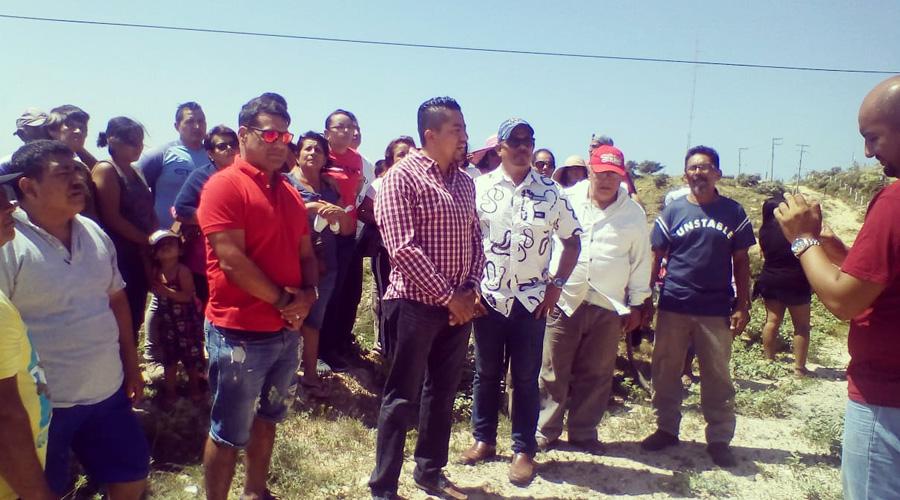 Vecinos temen ser echados de sus casas en Salina Cruz