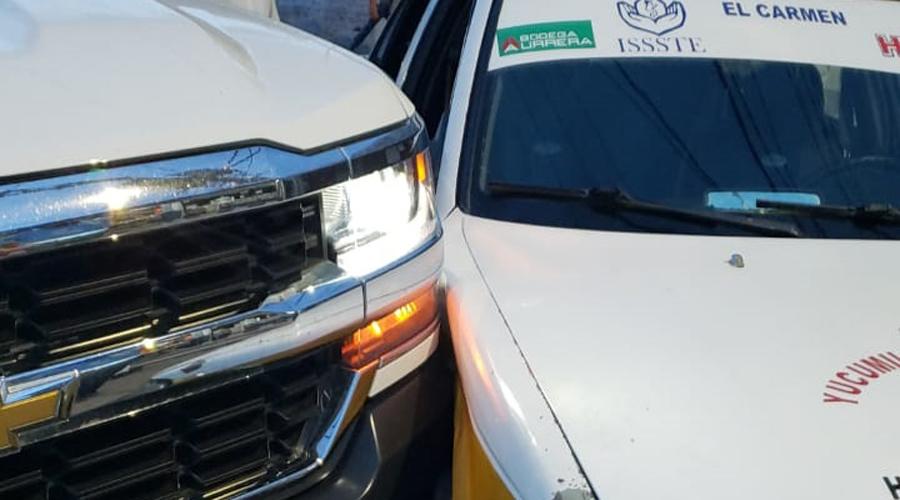 Daños materiales deja choque en Huajuapan   El Imparcial de Oaxaca