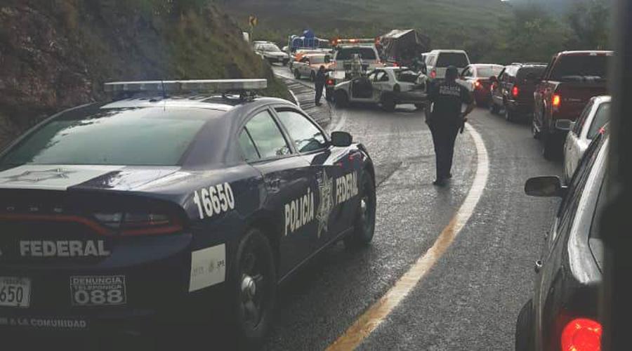 Volcadura en Huajuapan deja cuatro lesionados