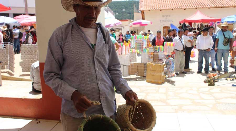 En Santiago Yosondúa, está por perderse la  producción de tijios