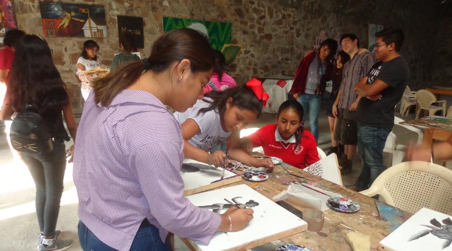Enseñanza del arte busca  aminorar la violencia en la Mixteca