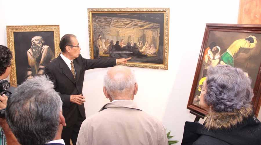 Exhiben Expresiones de Luis Mora en Expo Feria de Huajuapan de León, Oaxaca