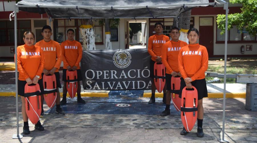 Implementan operativo salvavidas verano 2019 en Salina Cruz