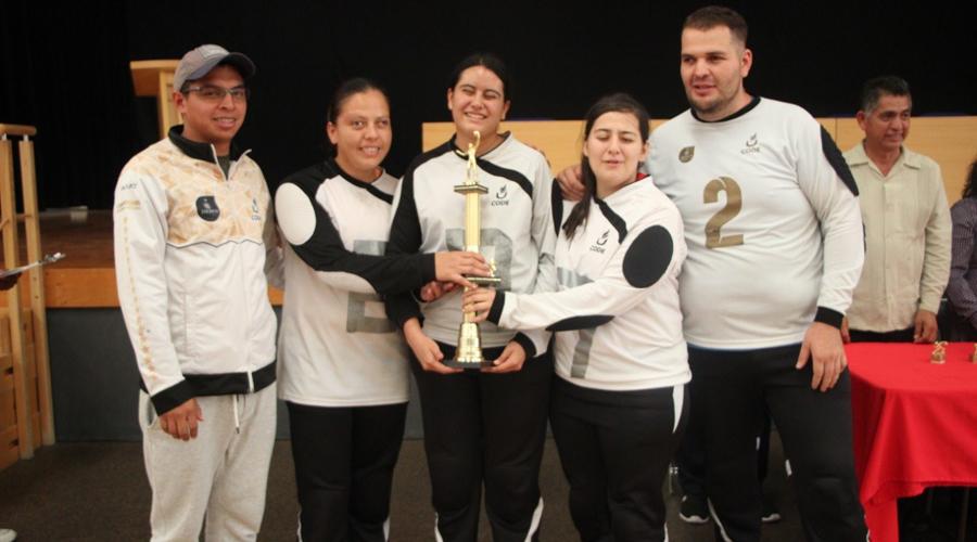 Poblanos y tapatíos se llevaron la victoria en el sexto torneo de golbol