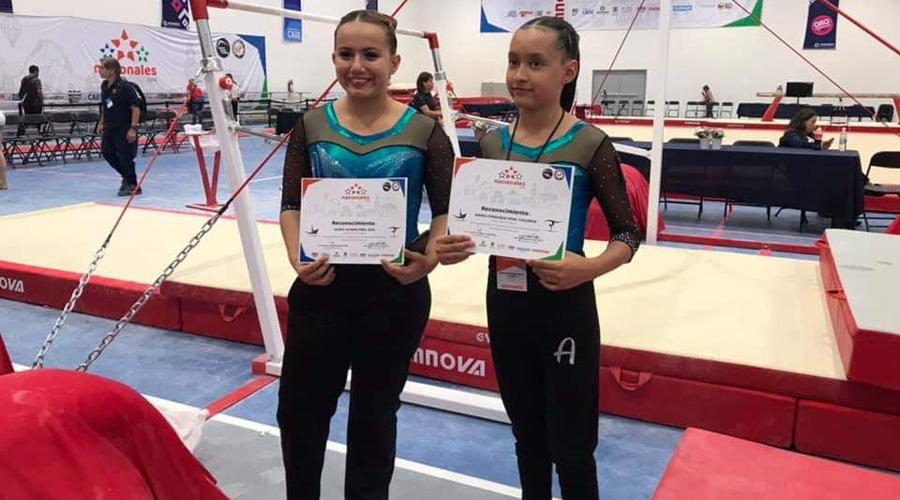 Arabesca compite en Campeonato Nacional de Gimnasia