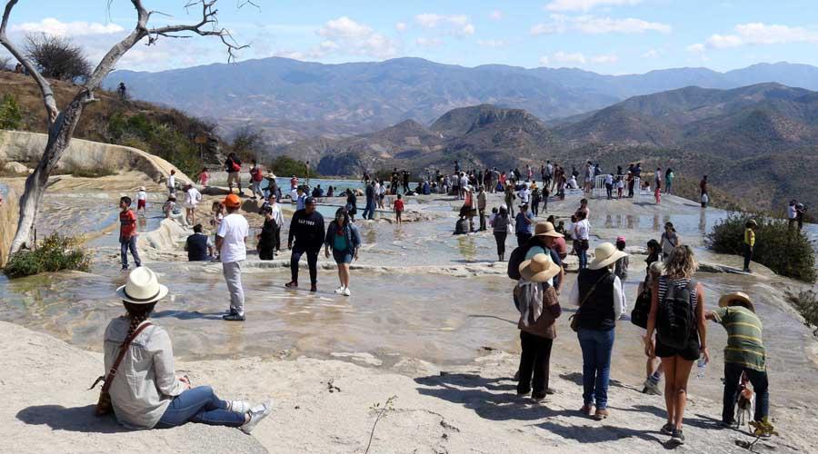 Surgen nuevos brotes en Hierve el Agua | El Imparcial de Oaxaca