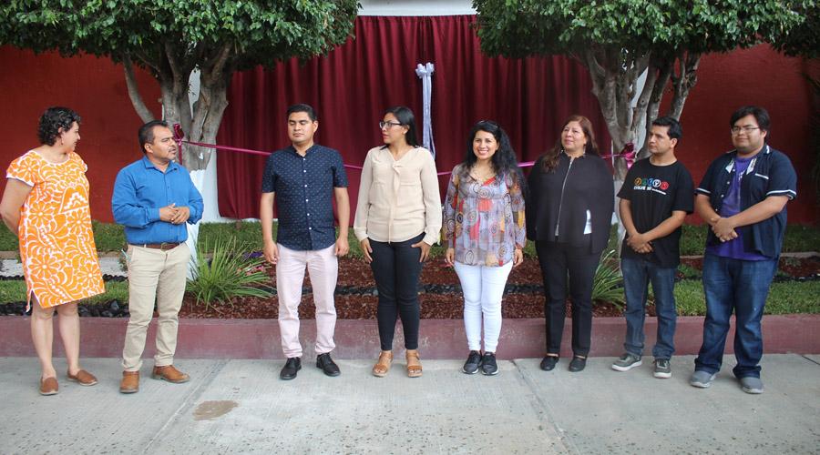 Dedican mural a artistas destacados de Huajuapan de León