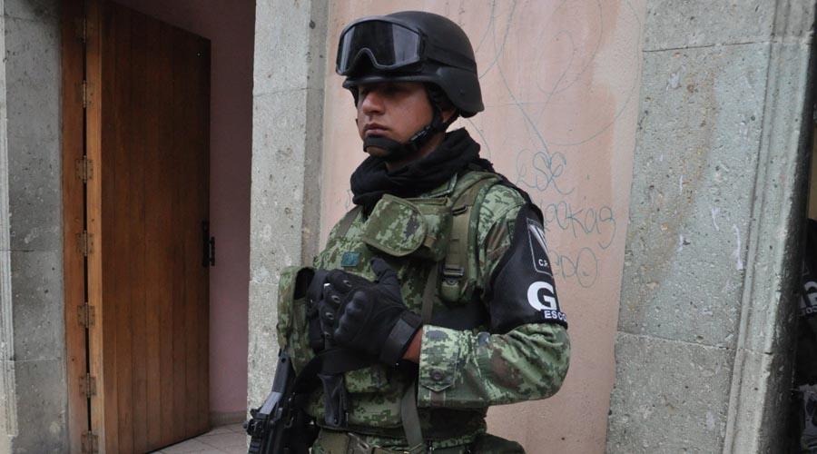 Incertidumbre en la capital de Oaxaca, ante la Guardia Nacional