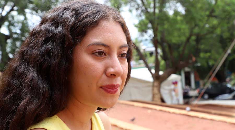 Karen Alejandra: Constancia y disciplina para representar a Donají