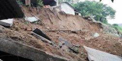 Lluvias afectan a comunidad mixe