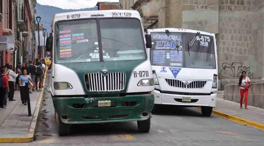 Urbaneros de Oaxaca laboran en camiones chatarra 17 horas al día | El Imparcial de Oaxaca