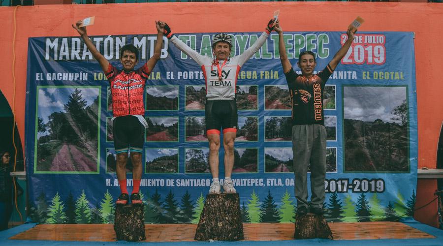 Marco Antonio Escárcega triunfa en la montaña en el primer maratón MTB