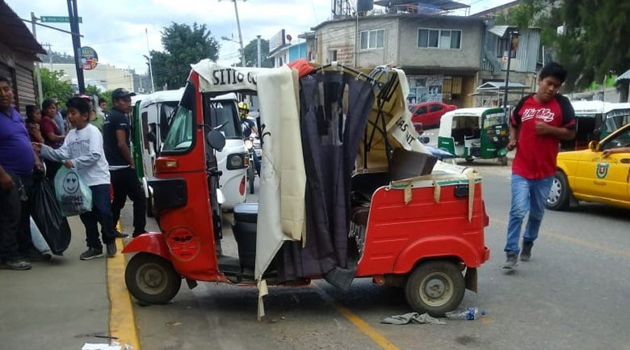 Autobús de la FYPSA provoca accidente en San Pedro Ixtlahuaca | El Imparcial de Oaxaca