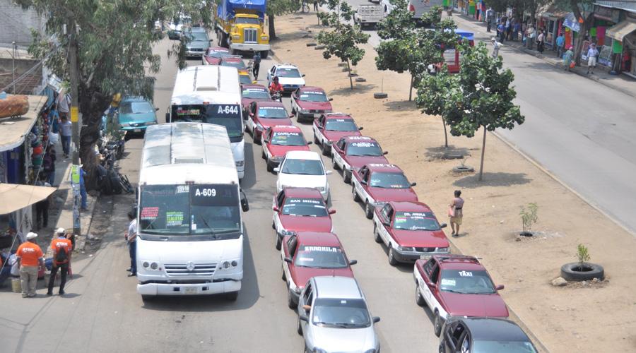 No hay avances en la  renovación del transporte urbano en la ciudad de Oaxaca