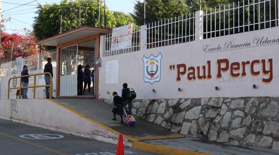 Denuncian obras inconclusas en primaria Paul Percy Harris de Santa Rosa Panzacola | El Imparcial de Oaxaca