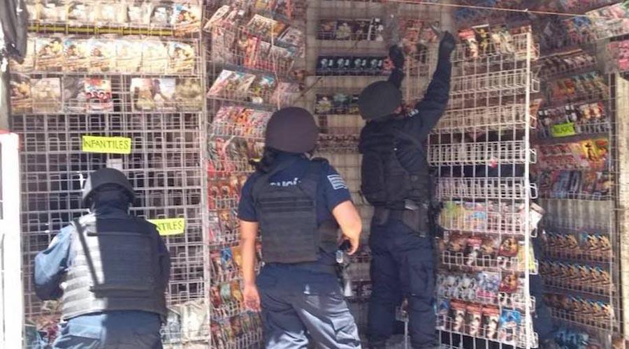 Persiste la venta de piratería en las calles de Oaxaca