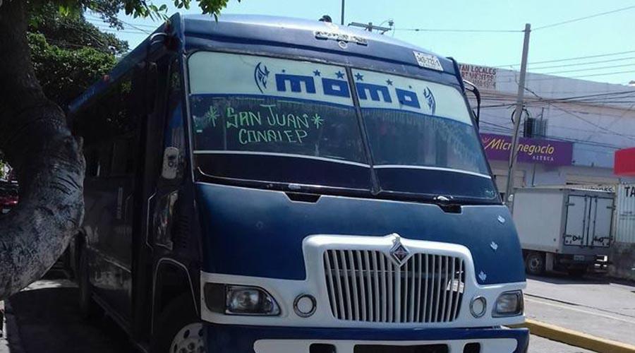 Piden retirar transporte urbano del Istmo | El Imparcial de Oaxaca