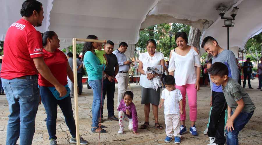 Promueven en la Mixteca, el uso de los juegos didácticos