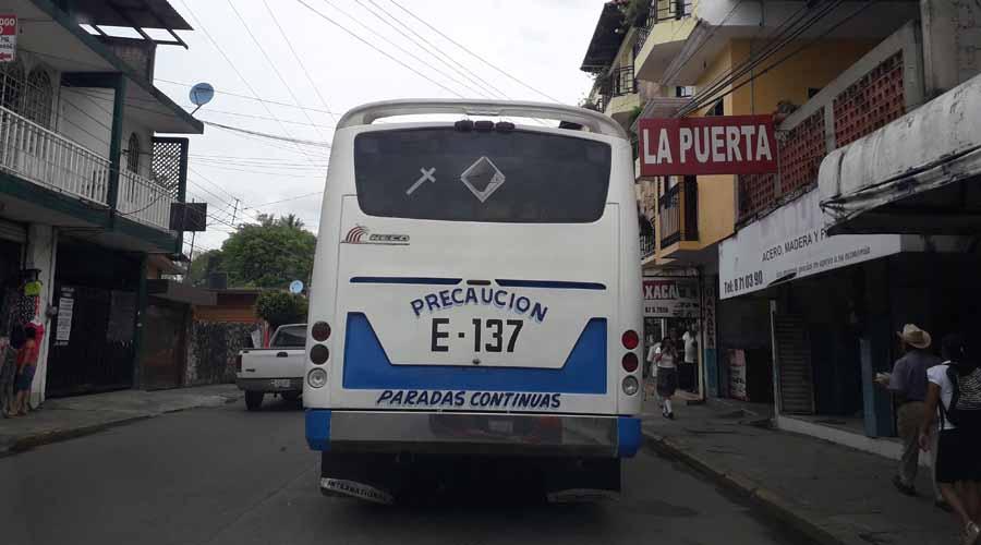 Regularizarán transporte urbano de Tuxtepec | El Imparcial de Oaxaca