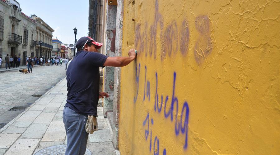 Centro Histórico de Oaxaca un peligro latente para los ciudadanos
