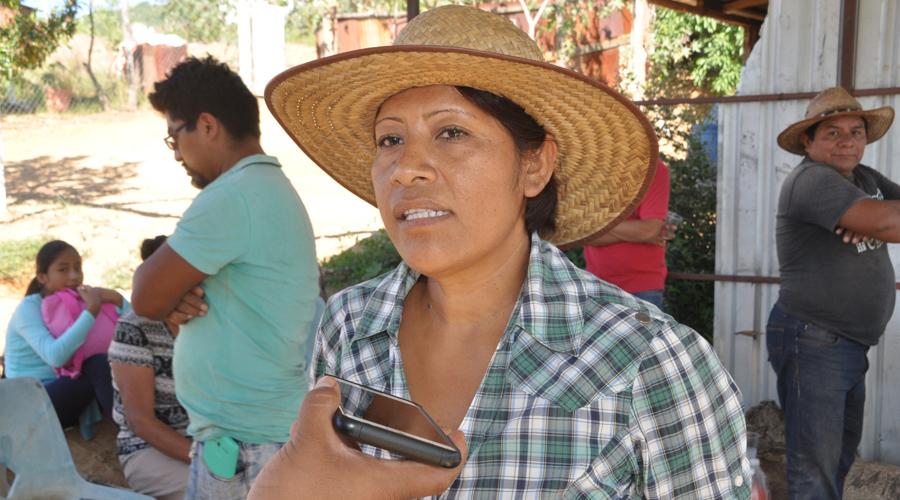 Pobladores del paraje El Quío, los olvidados del cerro