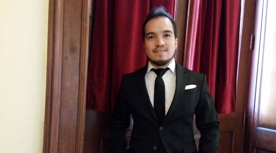 Rodrigo Petate: La ópera me ha abierto un mundo de posibilidades