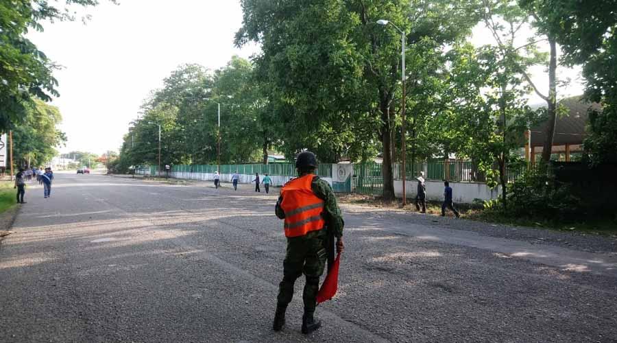 Se enfrentan Huleros en instalaciones de BYCHOSA