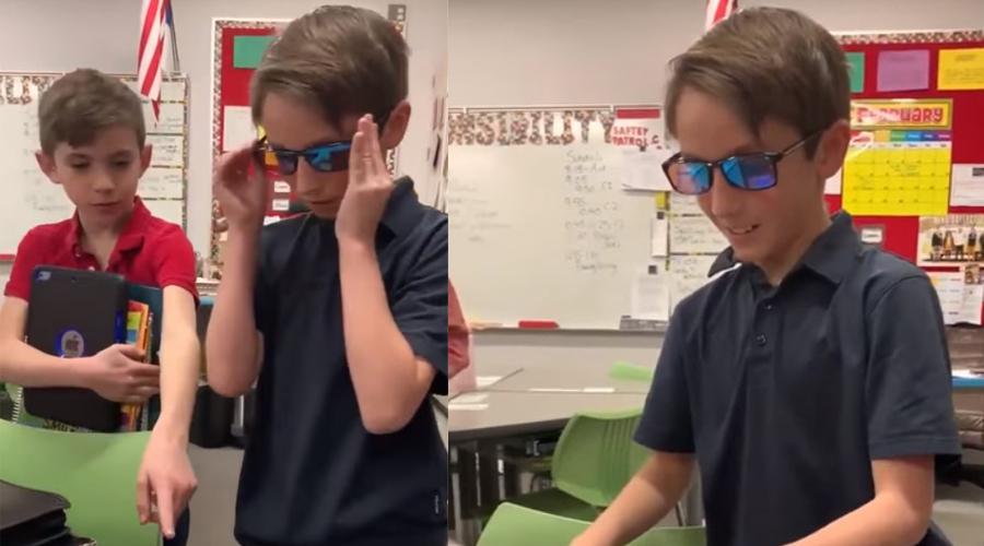 Video: Niño ahorra dinero para comprar lentes para su mejor amigo | El Imparcial de Oaxaca