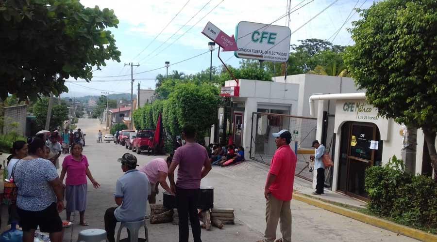 UCIDEBACC exige a CFE reanude  los trabajos de electrificación | El Imparcial de Oaxaca