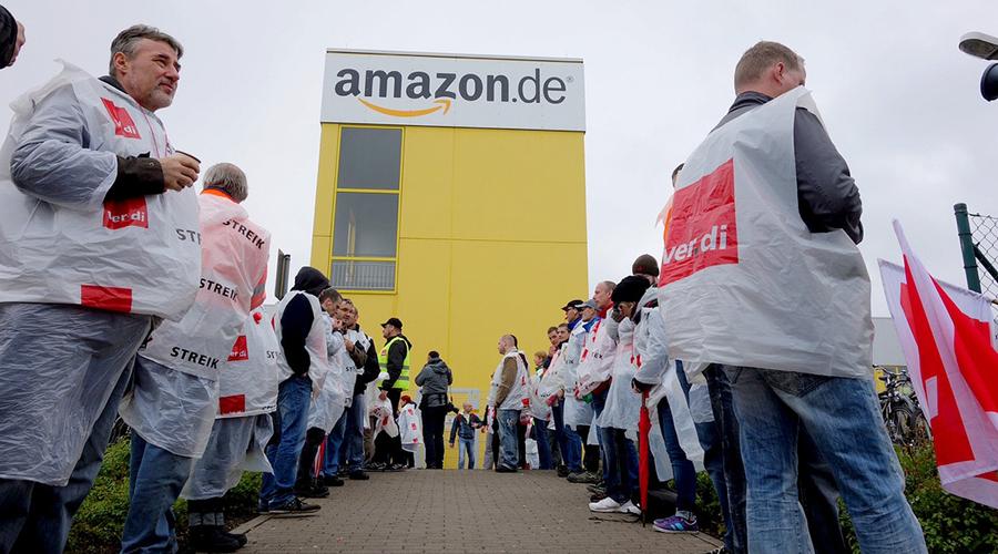 Empleados de Amazon en Berlin entran en huelga   El Imparcial de Oaxaca