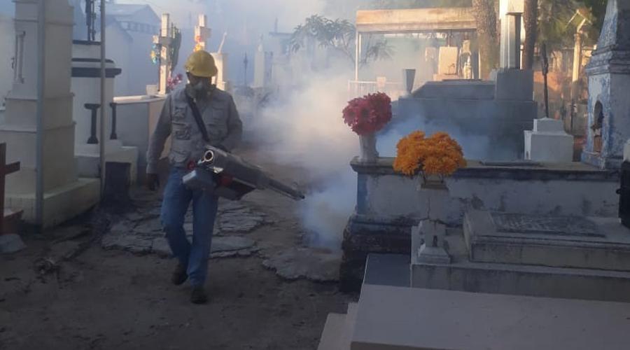 Realizan trabajos de termonebulizaciones en Huajuapan