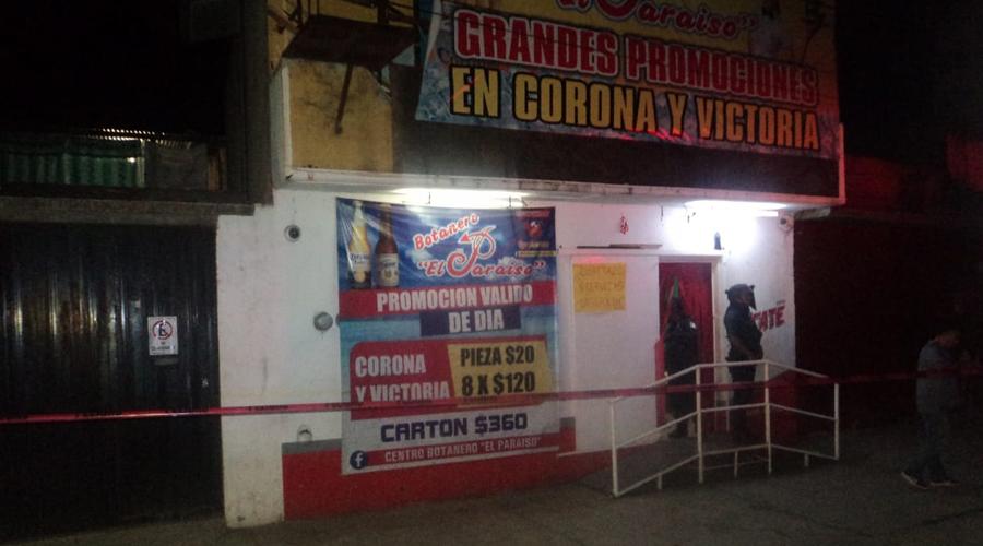 Asesinan en bar de Santa Lucía del Camino a guardia de seguridad