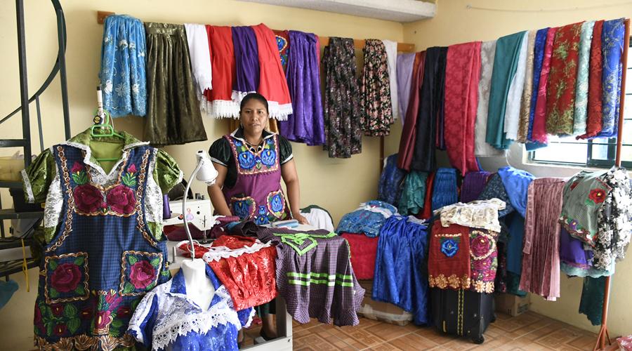 Vestimenta de San Marcos Tlapazola: Creación y huellas  de la migración