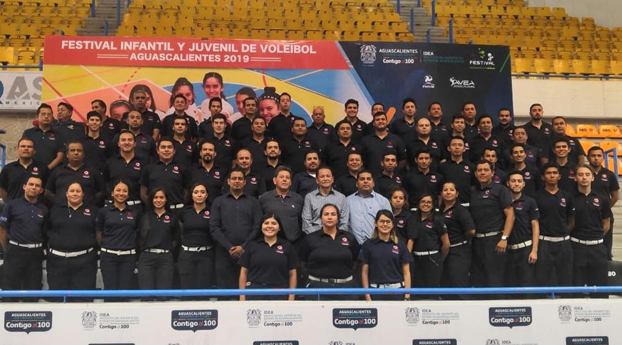 Ponen en alto a Oaxaca en el Festival Nacional Infantil y Juvenil de Voleibol