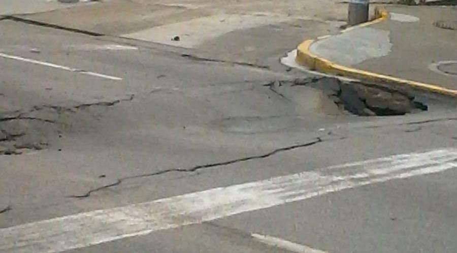 Registra hundimiento la carretera federal 175 en Oaxaca   El Imparcial de Oaxaca