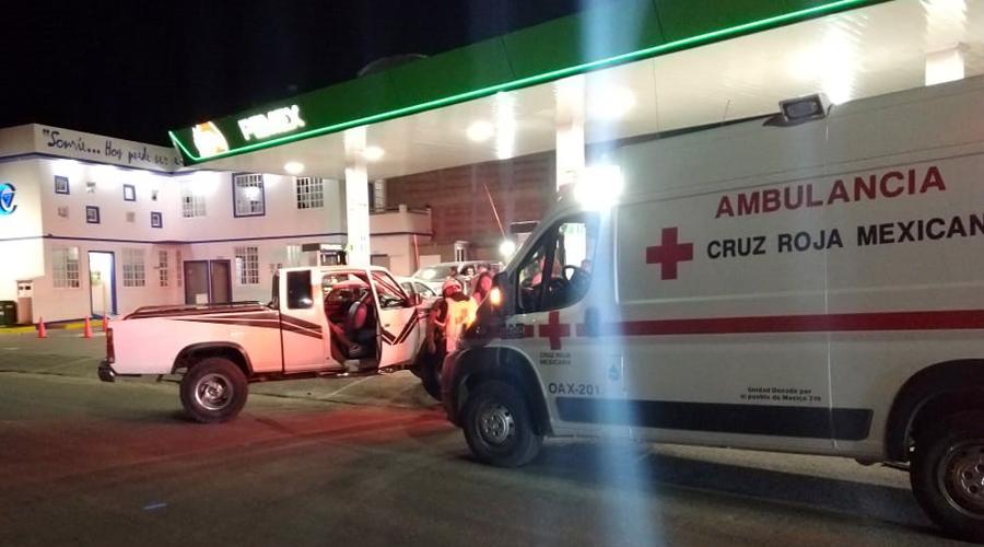 Aparatoso choque en Cinco Señores deja cinco lesionados | El Imparcial de Oaxaca