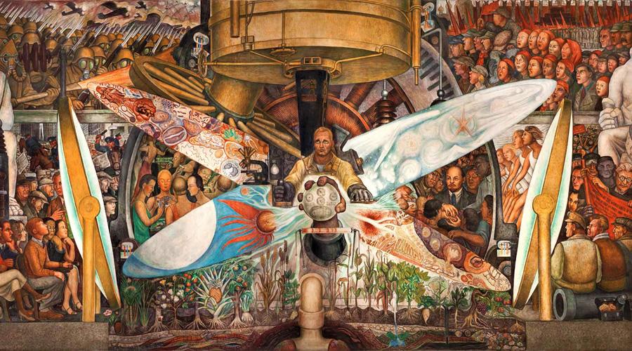 Resultado de imagen para murales de diego rivera zocalo