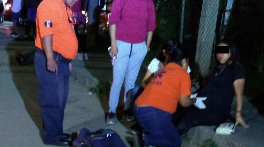 Cafre de Choferes del Sur tira a embarazada   El Imparcial de Oaxaca