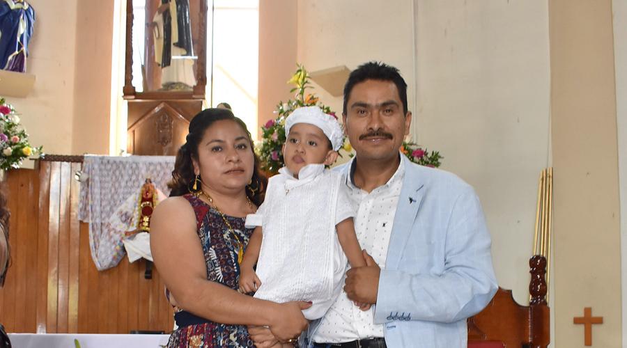 Primer  sacramento  católico de Omar