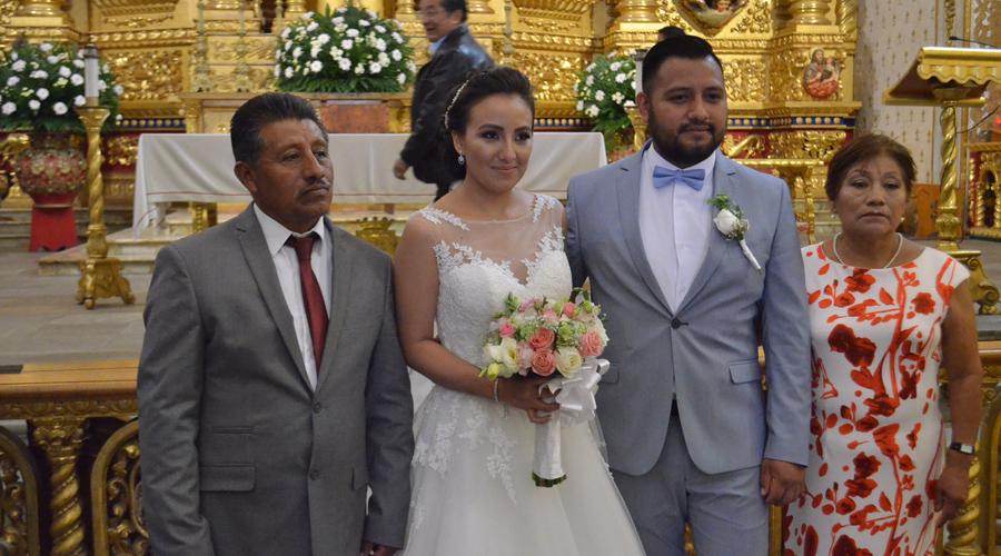 Miguel y Karina juraron amarse y respetarse todos los días de sus vidas