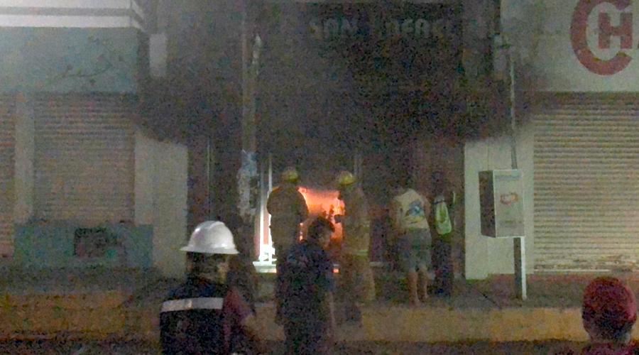 Se incendia restaurante en Juchitán | El Imparcial de Oaxaca