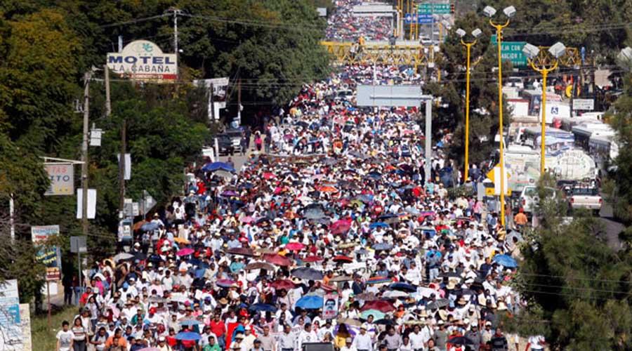 Marchará Sección 22 para conmemorar 12 años de la agresión de Emeterio Marino | El Imparcial de Oaxaca