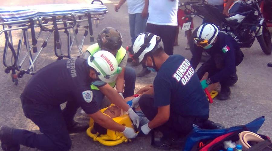 Le cortan el paso a motociclista en Juchitán | El Imparcial de Oaxaca