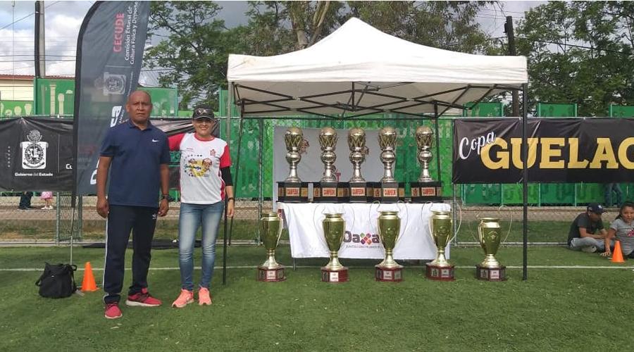 Celestes, monarcas de la Copa Guelaguetza