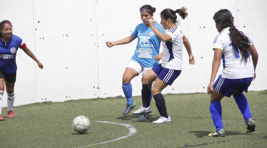 Las Futboleras con paso firme en la Liga Modelo