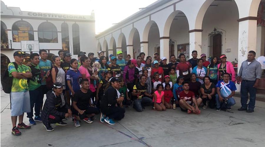 Corren en apoyo a Luisa Peña Vásquez en Huayápam