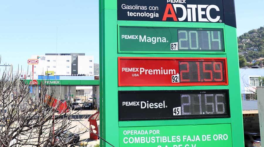 Precio de gasolina ahorca bolsillos de oaxaqueños