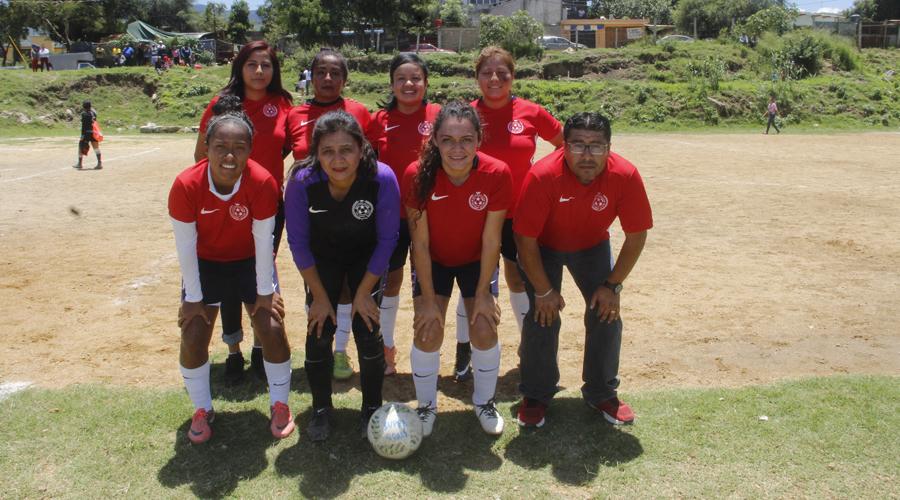 Súper Goals mandan en femenil de Futbol 7