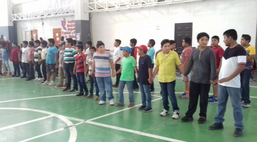 Buscan prevenir casos de abuso o violencia entre menores de edad, en Salina Cruz